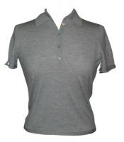 Johnstons - Ladies superfine cashmere polo shirt